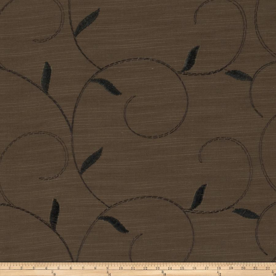 Fabricut Irwin Faux Silk Coffee