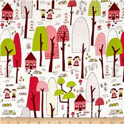 Moda Just Another Walk In The Woods Forest Dark Cream
