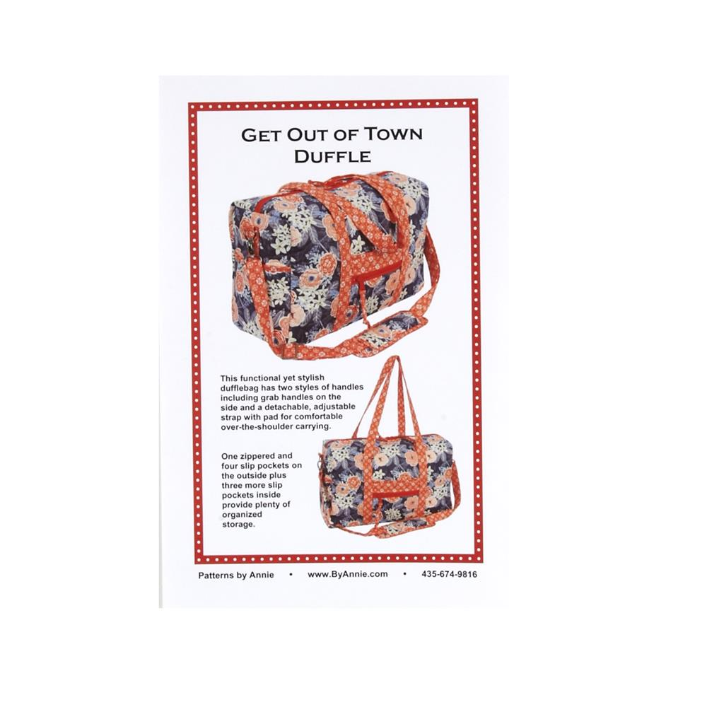 By Annie Get Out Of Town Duffle Bag Pattern