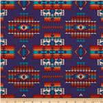 Tucson Beaded Blanket Purple