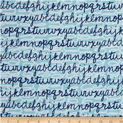 Kanvas Head of the Class Scribble Script Sky