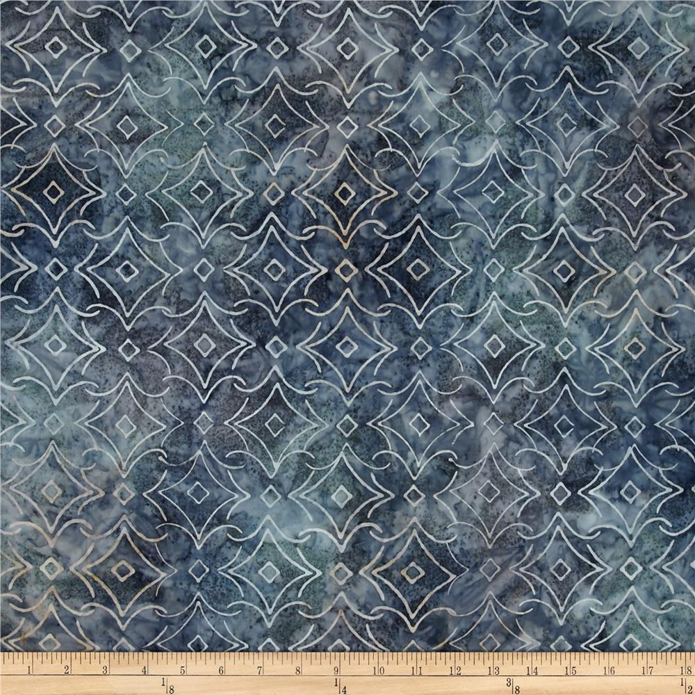 Kaufman Artisan Batiks Rivoli Triangle Plaid Shadow