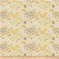 Fabricut  Embroidered Bettino Floral Citrus