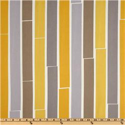 Suburban Home Indoor/Outdoor Dhoti Stripe Nickel