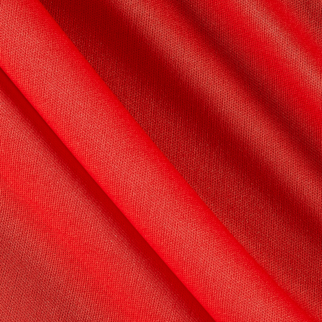 70 Denier Tricot Coral Orange Fabric by Mike Cannety in USA