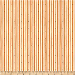 Riley Blake Witch Hazel Witch Stripe Orange Fabric