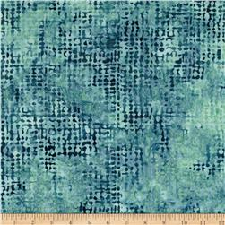 Bali Batiks Handpaints Burlap Big Sur Blue Fabric