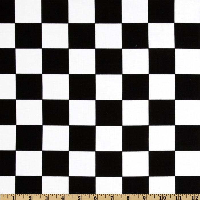 Kanvas Arnold's Diner Checkerboard Black/White