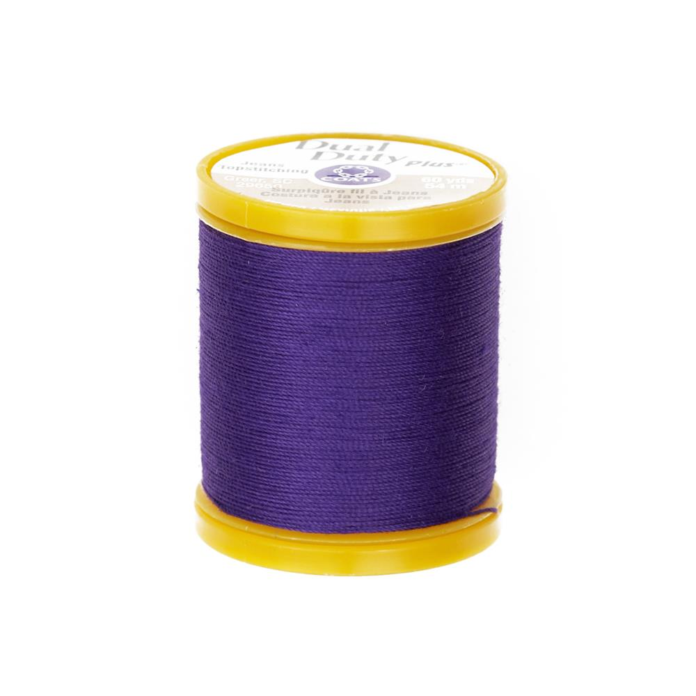 Dual Duty Plus Jeans & Topstitching Thread 60 Yds. Purple