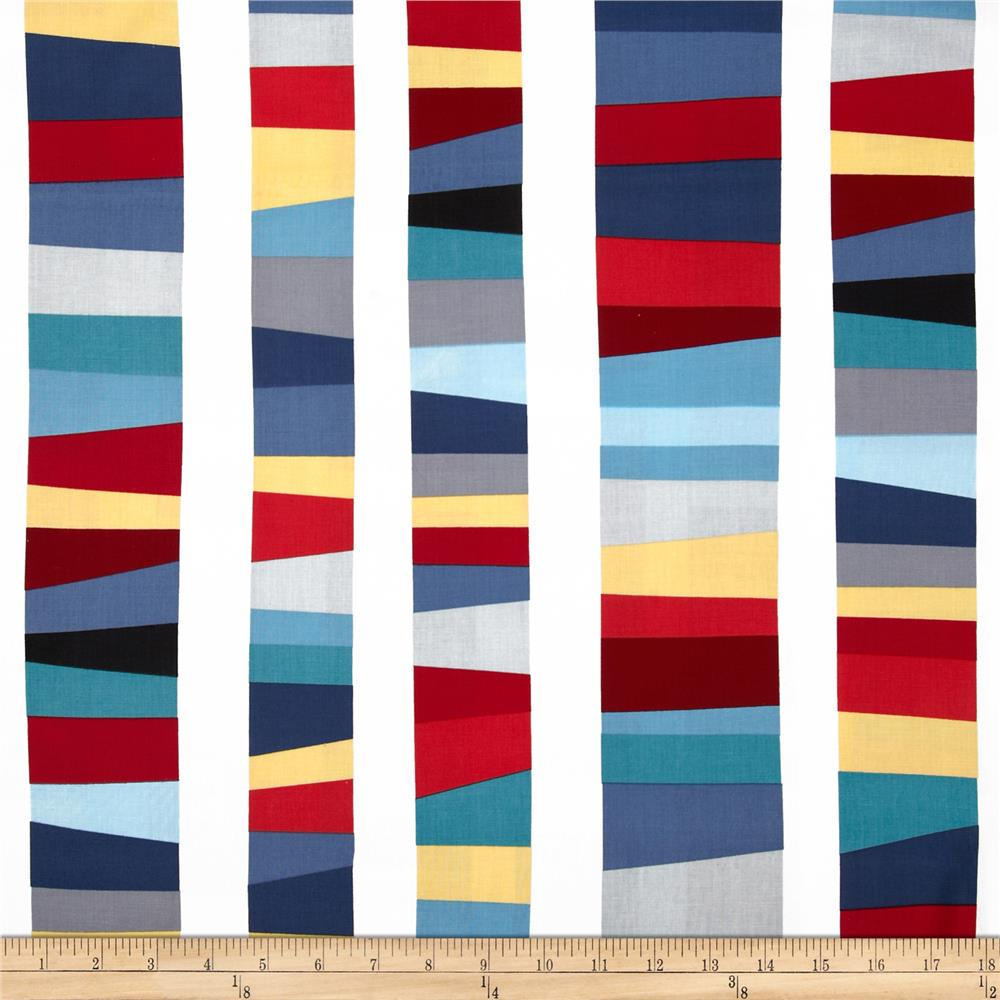 Kona Modern Quilts Stripe Pacific
