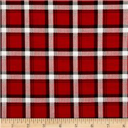 Kanvas Best in Show Classic Plaid Red