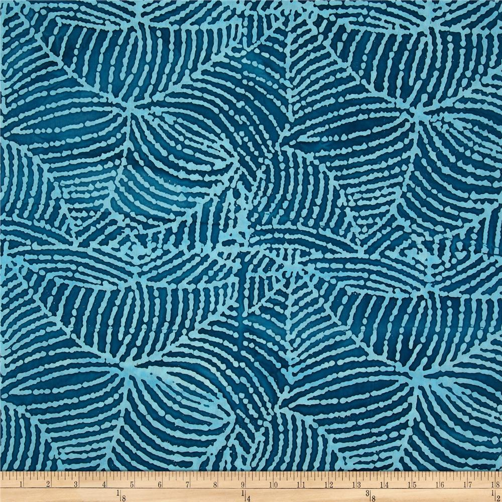 Indian Batik Web Blue/Turquoise