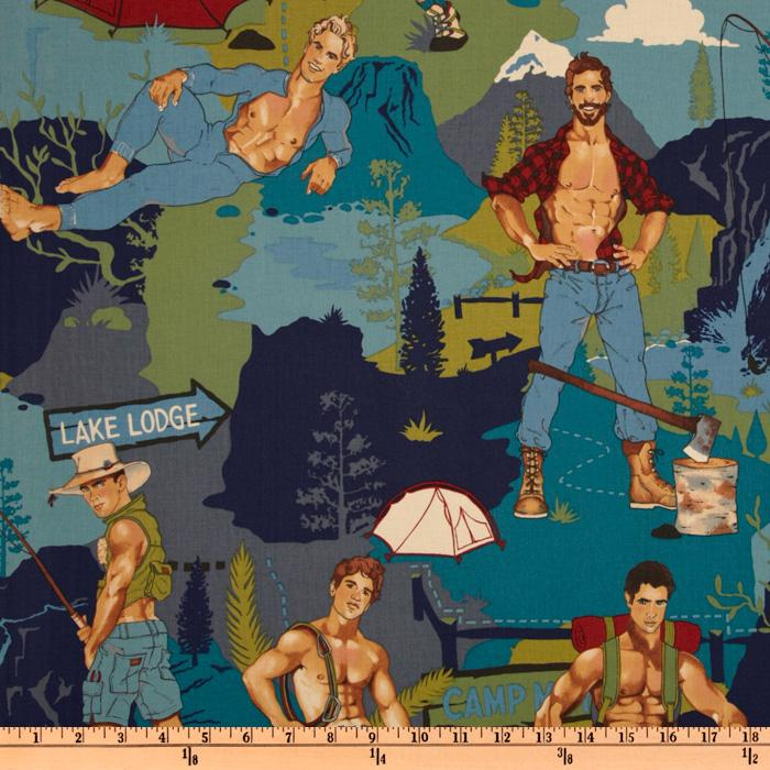 Pin Ups The Outdoorsy Type Teal