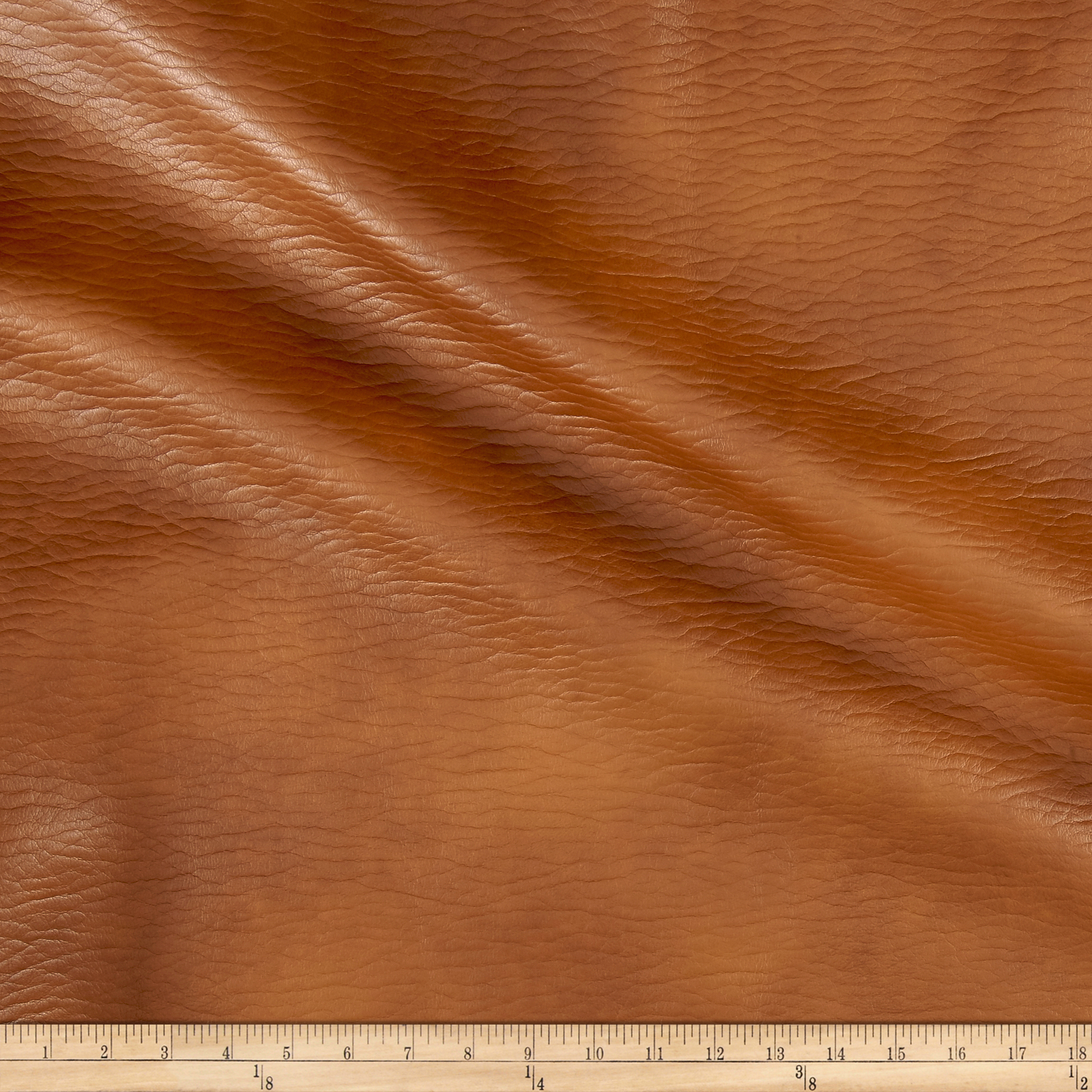 Richloom Tough Faux Leather Entity Cognac Fabric by TNT in USA