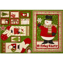 Ho Ho Holiday Panel Multi