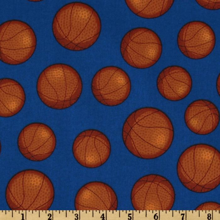 Sports Life Basketballs Royal Blue