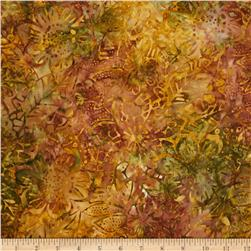 Timeless Treasures Tonga Batik Fall Bouquet Harvest