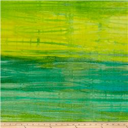 Wilmington Batiks Ombre Stripe Green/Yellow