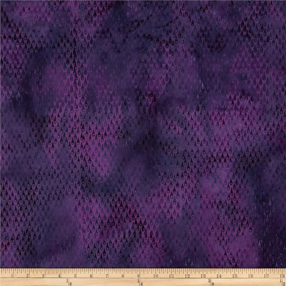 Island Batik Love Potion #9 Dark Purple/Fuchsia Tears