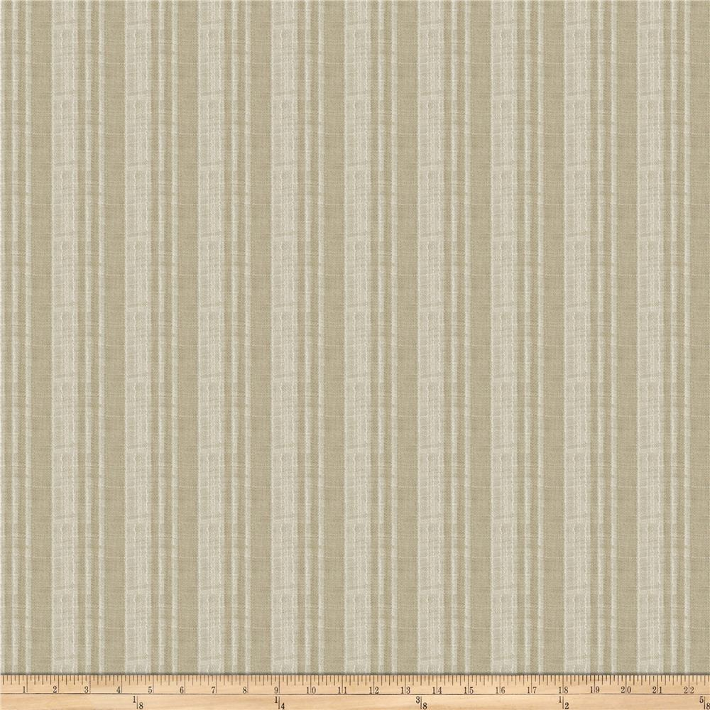Fabricut Claus Stripe Pebble
