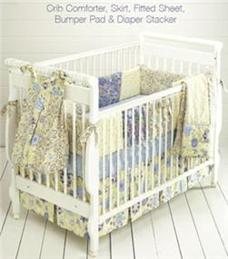 Kwik Sew Crib Comforter, Skirt, Fitted Sheet, Bumper