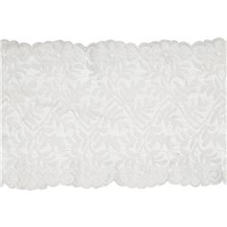 "7.5"" Laurie Chantilly Stretch Lace Trim Ivory"
