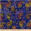 Indian Batik Paisley Royal/Multi
