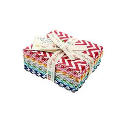 Moda Half Moon Modern Small  Zig Zag Fat Quarter Assortment