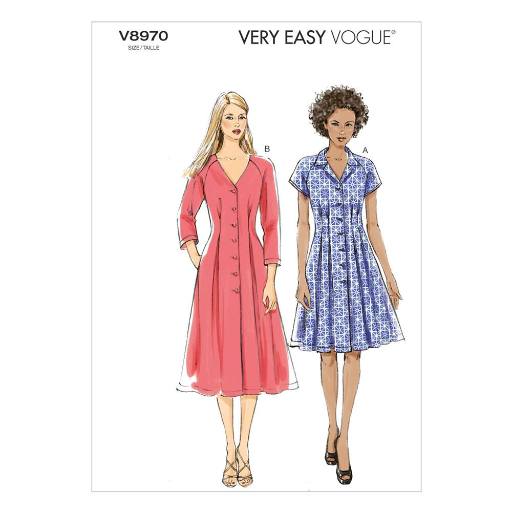 Vogue Misses' Dress Pattern V8970 Size B50