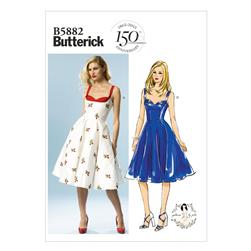 Butterick Misses' Dress Pattern B5882 Size AX5