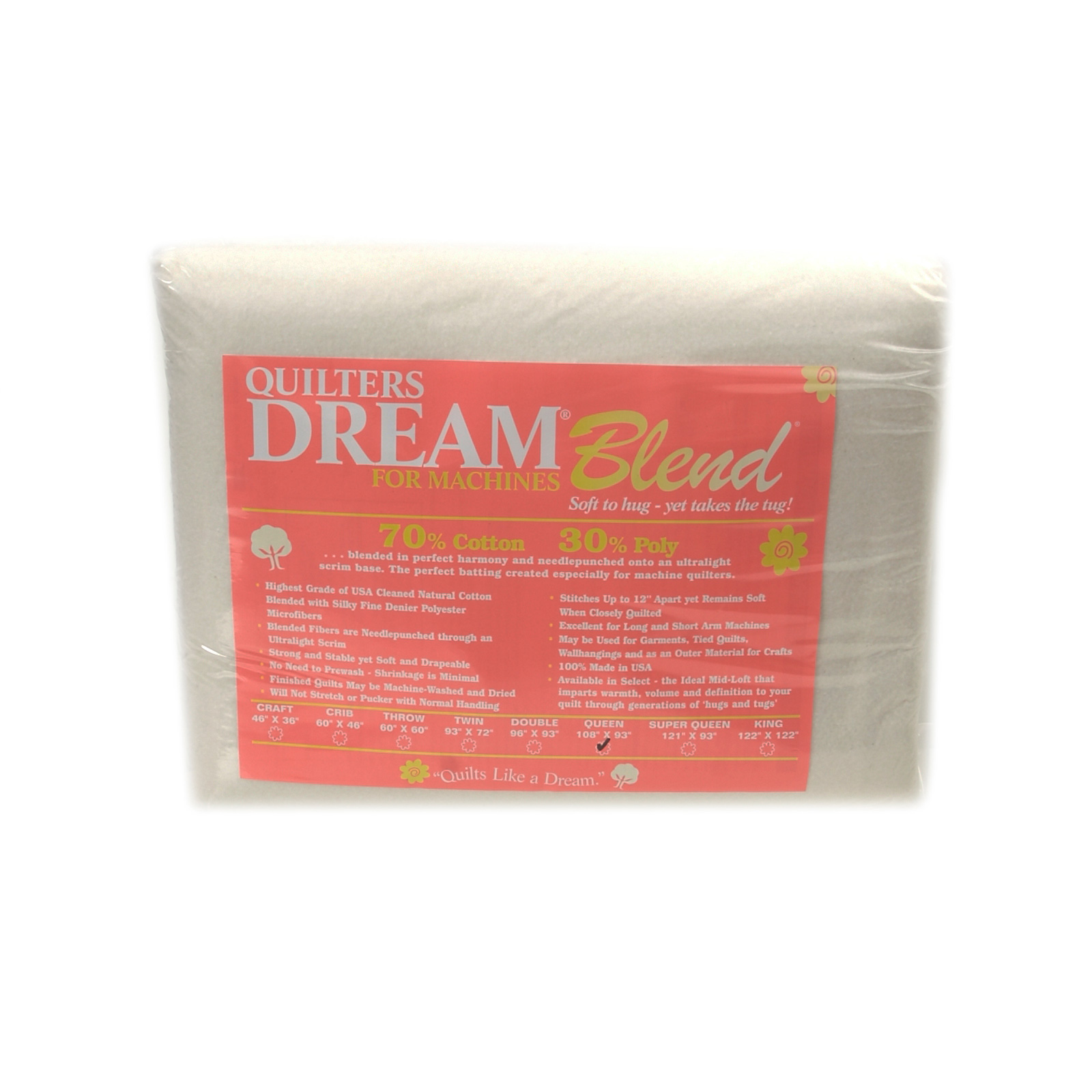 Quilter's Dream Blend (108'' x 93'') Queen by Quilter's Dream in USA