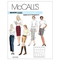 McCall's Misses' Skirts In 5 Lengths Pattern M3830