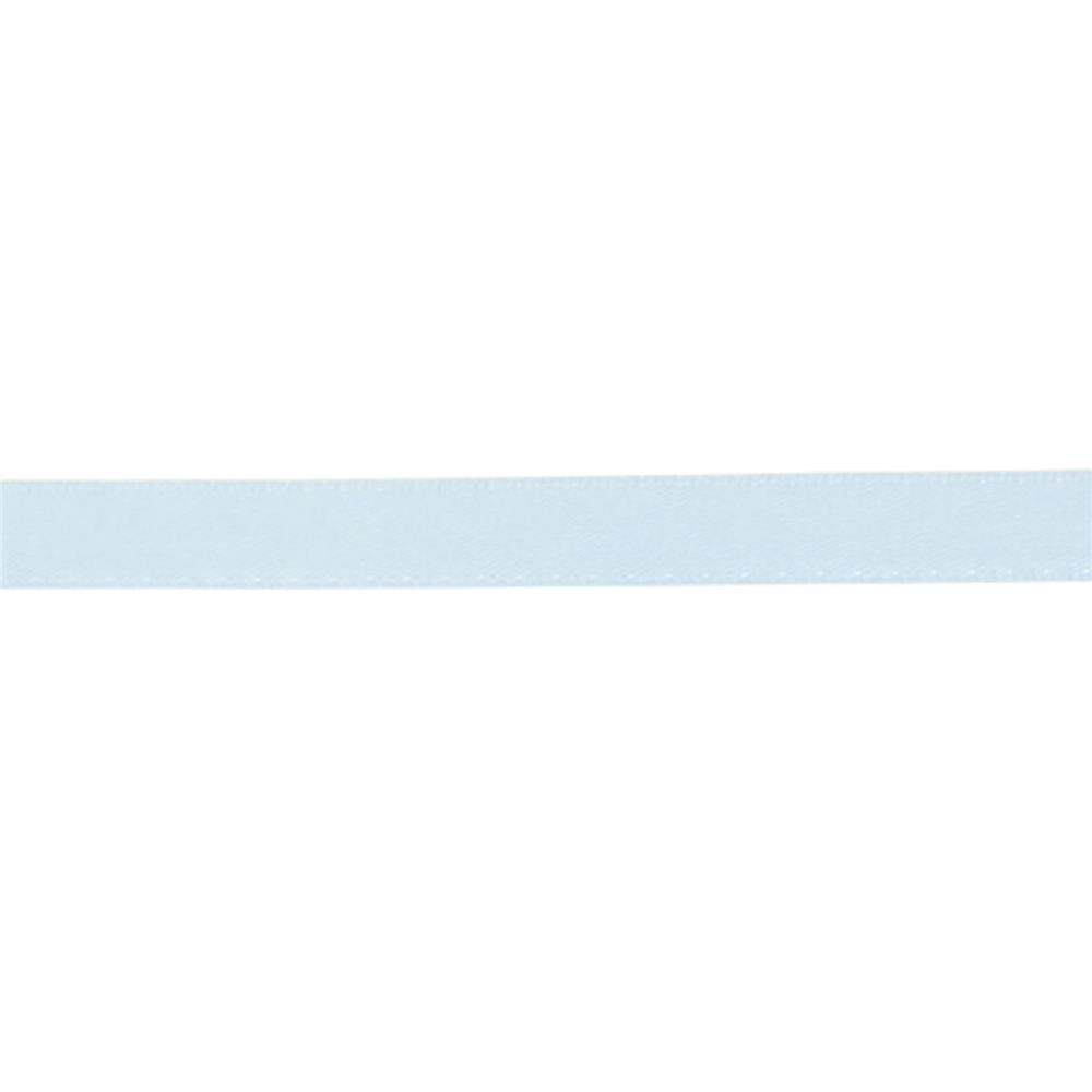 "May Arts 3/8"" Double Face Satin Ribbon Spool Light Blue"