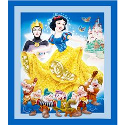 Disney Snow White 36 In. Panel Blue
