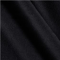 Stretch French Terry Solid Midnight Black