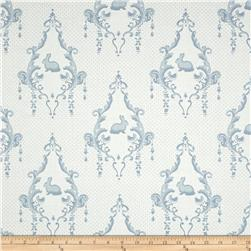 Moda Lily & Will Revisited Lily & Will Cream-Blue