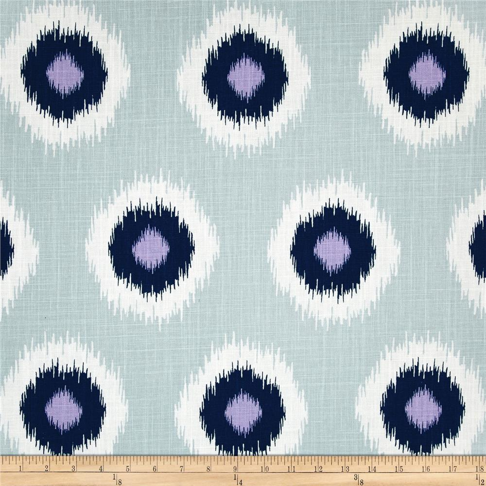 Premier Prints Ikat Domino Drew Slub Berries