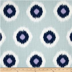 Premier Prints Ikat Domino Drew Slub Berries Fabric