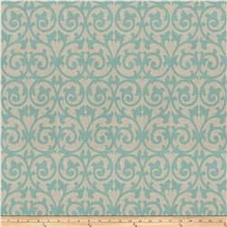 Fabricut Ezekiel Scroll Aquamarine