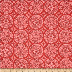 Garden Party Tango Medallion Coral