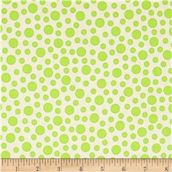 Moda Bandana Bubbles Hippie Green
