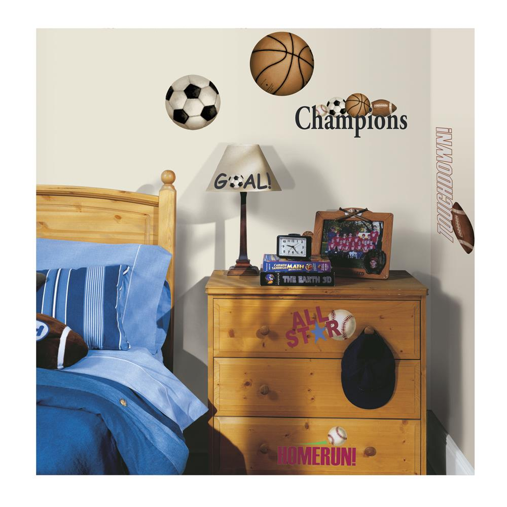 Play Ball Wall Decals