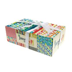 Michael Miller Just My Type Fat Quarter Boxi