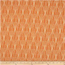 Waverly Strands Jacquard Tiger Lily Fabric