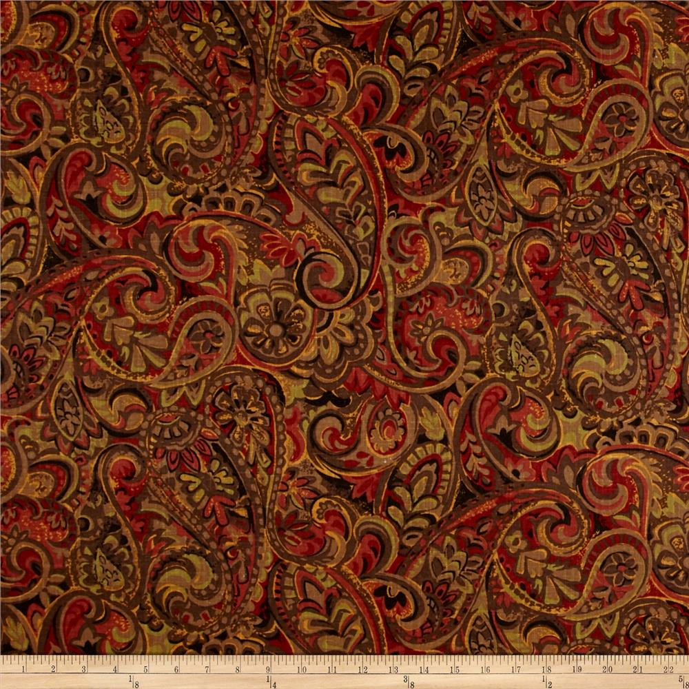 Jaclyn Smith Paisley Blend Garden Spice