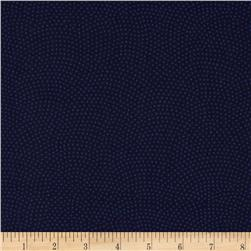 Timeless Treasures Dream Dots Navy