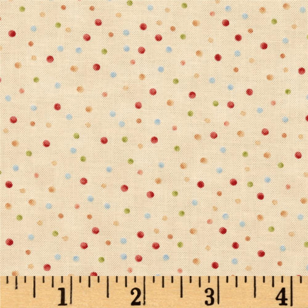 Winter Games Dots Cream