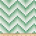 Mosaic Chevron Lime