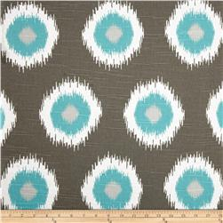 Premier Prints Ikat Domino Slub Spirit Fabric