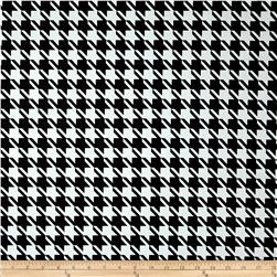 Duralee Candace Houndstooth Twill Ebony